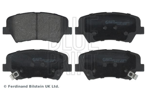 BLUE PRINT  ADG042137 Bremsbelagsatz, Scheibenbremse Breite: 60,0mm, Dicke/Stärke 1: 17mm