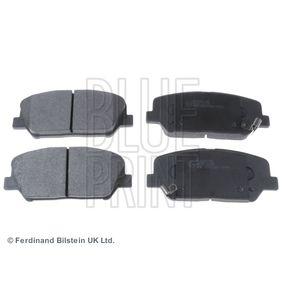 Bremsbelagsatz, Scheibenbremse Breite: 60,2mm, Dicke/Stärke 1: 16,9mm mit OEM-Nummer 58101 2MA00