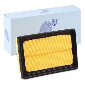 Luftfilter Länge: 177mm, Breite: 118,0mm, Höhe: 39mm, Länge: 177mm mit OEM-Nummer 17801-0M030