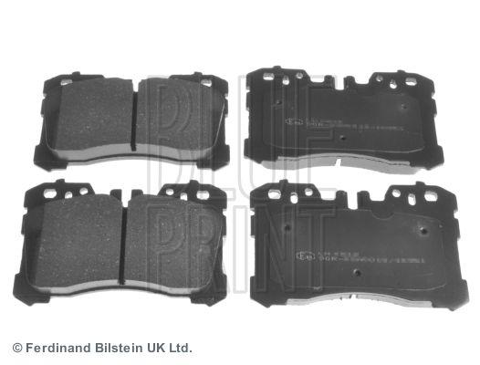BLUE PRINT  ADT342192 Bremsbelagsatz, Scheibenbremse Breite: 87,7mm, Dicke/Stärke 1: 18,3mm