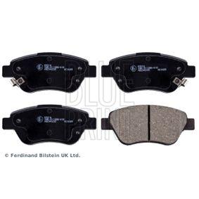 Bremsbelagsatz, Scheibenbremse Breite: 53,3mm, Dicke/Stärke 1: 17,3mm mit OEM-Nummer 77 363 974