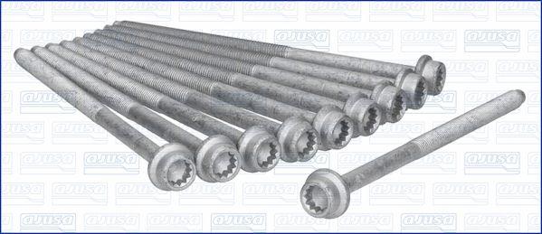 AJUSA  81028500 Juego de tornillos de culata Medida de rosca: M9, Long.: 158mm