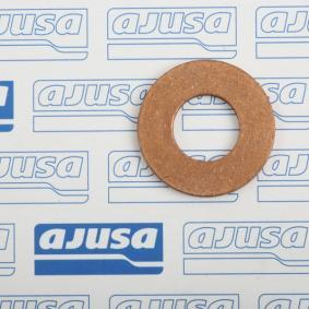 Seal, oil drain plug Ø: 21mm, Thickness: 2mm, Inner Diameter: 10mm with OEM Number 1 145 962