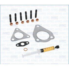 Montagesatz, Abgasanlage VW PASSAT Variant (3B6) 1.9 TDI 130 PS ab 11.2000 AJUSA Montagesatz, Lader (JTC11055) für
