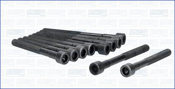 AJUSA  81014700 Zylinderkopfschraubensatz Gewindemaß: M9, Länge: 84mm