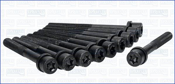 AJUSA  81017500 Zylinderkopfschraubensatz Gewindemaß: M11, Länge: 105mm
