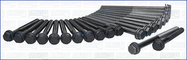 AJUSA  81003200 Zylinderkopfschraubensatz Gewindemaß: M12, Länge: 163mm