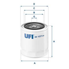 Ölfilter Ø: 96mm, Außendurchmesser 2: 72mm, Innendurchmesser 2: 62mm, Höhe: 96,5mm mit OEM-Nummer 77 0100 8698