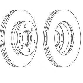 Bremsscheibe Bremsscheibendicke: 28mm, Lochanzahl: 6, Ø: 300mm mit OEM-Nummer 2E0.615.301
