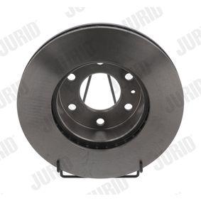 Bremsscheibe Bremsscheibendicke: 28mm, Lochanzahl: 6, Ø: 300mm mit OEM-Nummer 58 0163 9518