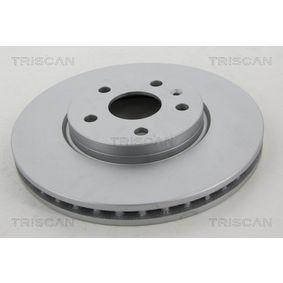 Bremsscheibe Bremsscheibendicke: 30mm, Lochanzahl: 5, Ø: 321mm mit OEM-Nummer 13502214