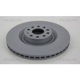 Спирачен диск дебелина на спирачния диск: 30мм, брой на дупките: 5, Ø: 345мм с ОЕМ-номер 1K0615301AB
