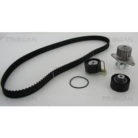 Water pump and timing belt kit with OEM Number 1610793380