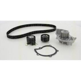 Water pump and timing belt kit with OEM Number 1761941