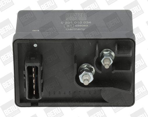 Steuergerät, Glühzeit GR034 BERU 0201010034 in Original Qualität