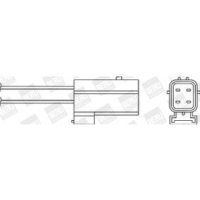 Lambdasonde Kabellänge: 295mm mit OEM-Nummer MHK10004