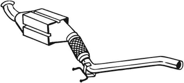 BOSAL  105-143 Endschalldämpfer