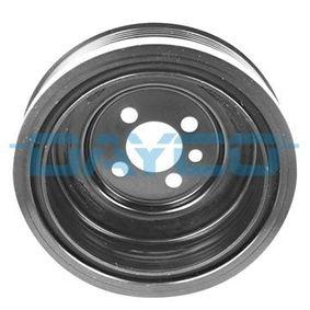 Kurbelwellenriemenscheibe für VW TOURAN (1T1, 1T2) 1.9 TDI 105 PS ab Baujahr 08.2003 DAYCO Riemenscheibe, Kurbelwelle (DPV1123) für