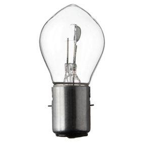 Bulb, headlight S1, Ba20d, 15/15W, 6V 6022