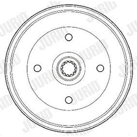 Bremstrommel Trommel-Ø: 230mm mit OEM-Nummer 113501615J