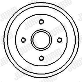 Bremstrommel Trommel-Ø: 180mm mit OEM-Nummer 305 501 6151