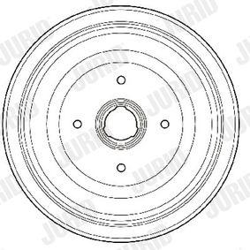 Bremstrommel Trommel-Ø: 230mm, Br.Tr.Durchmesser außen: 290,5mm mit OEM-Nummer 443 501 615