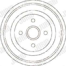 Bremstrommel Trommel-Ø: 230mm mit OEM-Nummer 147 501 615A