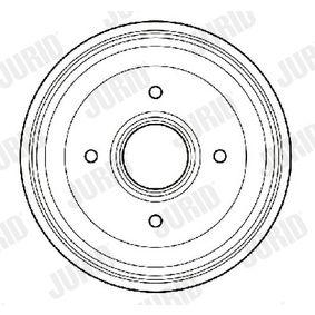Bremstrommel Trommel-Ø: 180,2mm, Br.Tr.Durchmesser außen: 207,8mm mit OEM-Nummer 7700 783 030
