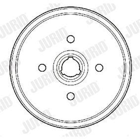 Bremstrommel Trommel-Ø: 180mm, Br.Tr.Durchmesser außen: 211,6mm mit OEM-Nummer 305 501 6151