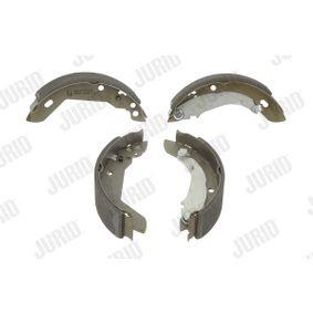 Bremsbackensatz Trommel-Ø: 180, Breite: 40mm, Dicke/Stärke: 4,5mm mit OEM-Nummer 7701205312
