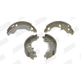 Bremsbackensatz Trommel-Ø: 180, Breite: 30mm, Dicke/Stärke: 4,5mm mit OEM-Nummer 71738378