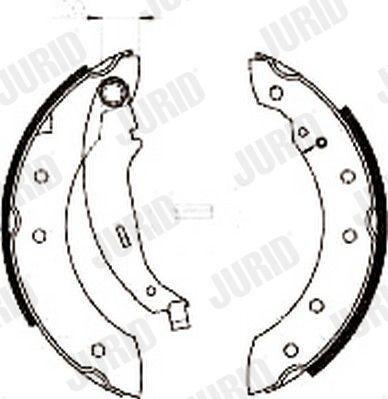 Trommelbremsbacken JURID 362318J Bewertung