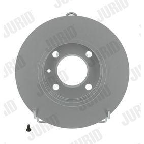 JURID  561087JC Bremsscheibe Bremsscheibendicke: 10mm, Lochanzahl: 4, Ø: 239mm