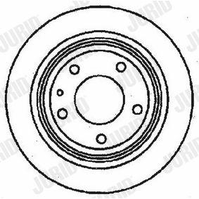 Bremsscheibe Bremsscheibendicke: 10mm, Lochanzahl: 5, Ø: 284mm mit OEM-Nummer 4020 649 11R