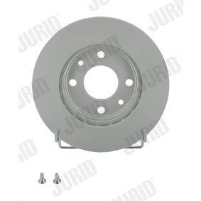 Bremsscheibe Bremsscheibendicke: 20mm, Lochanzahl: 4, Ø: 238mm mit OEM-Nummer 7701204286