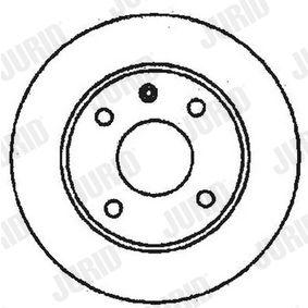 Bremsscheibe Bremsscheibendicke: 12,7mm, Lochanzahl: 4, Ø: 239,7mm mit OEM-Nummer 6100043