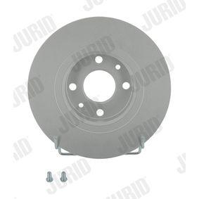 JURID спирачен диск (561469JC) за с ОЕМ-номер 51859075