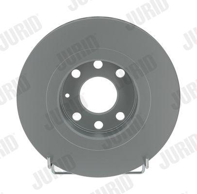 JURID  561488JC Bremsscheibe Bremsscheibendicke: 24mm, Lochanzahl: 6, Ø: 256mm