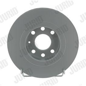 Bremsscheibe Bremsscheibendicke: 24mm, Lochanzahl: 6, Ø: 256mm mit OEM-Nummer 90 250 546