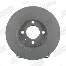 JURID Brake disc kit 1, 37, without bolts/screws