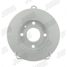 JURID Спирачни дискове плътен, с покритие, без винтове