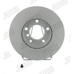 Bremsscheibe Bremsscheibendicke: 22mm, Lochanzahl: 5, Ø: 286mm mit OEM-Nummer 3411 1162 288