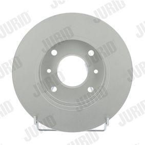 Bremsscheibe Bremsscheibendicke: 22mm, Lochanzahl: 4, Ø: 256mm mit OEM-Nummer 40206 71E00