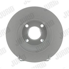 Bremsscheibe Bremsscheibendicke: 13mm, Lochanzahl: 4, Ø: 280mm mit OEM-Nummer 8A0615301 D