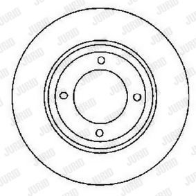 Bremsscheibe Bremsscheibendicke: 13mm, Lochanzahl: 4, Ø: 280mm mit OEM-Nummer 8A0 615 301
