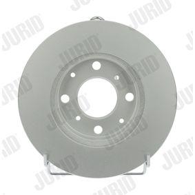 Bremsscheibe Bremsscheibendicke: 21mm, Lochanzahl: 4, Ø: 240mm mit OEM-Nummer 45251TARG00