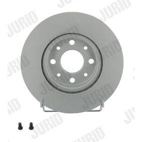 Bremsscheibe Bremsscheibendicke: 20mm, Lochanzahl: 4, Ø: 257mm mit OEM-Nummer 5174 9124