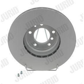 Bremsscheibe Bremsscheibendicke: 28mm, Lochanzahl: 5, Ø: 316mm mit OEM-Nummer 34 11 6 757 752