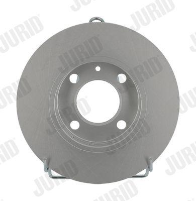 Bremsscheiben 561981JC JURID 561981 in Original Qualität