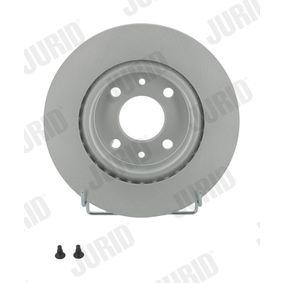 Bremsscheibe Bremsscheibendicke: 21mm, Lochanzahl: 4, Ø: 259mm mit OEM-Nummer 7701 205 653